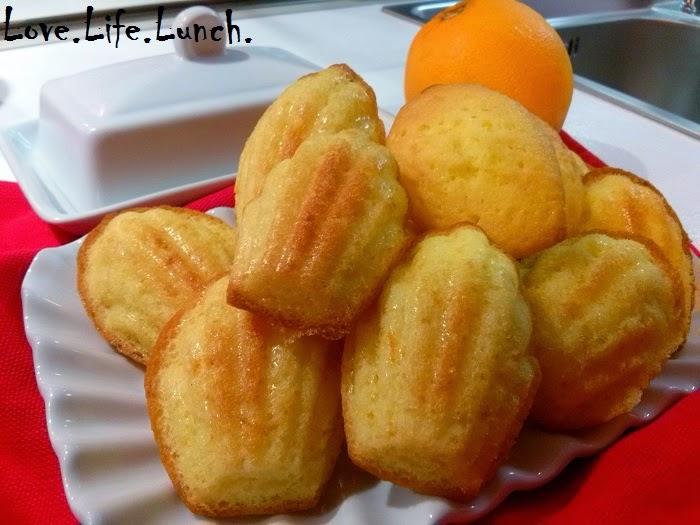 Madeleines (petite pâtisserie française)