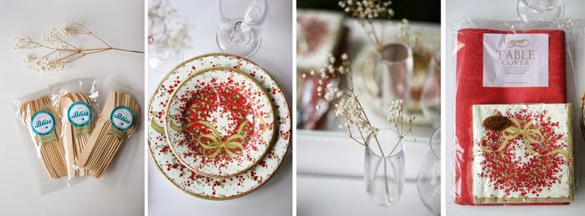 Mesa navideña de cartón con Elegance Party - Decorar en familia3