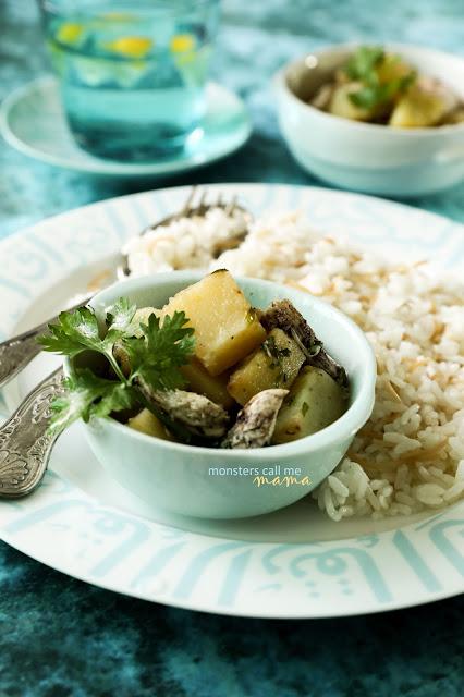 potato stew, يخنة البطاطا