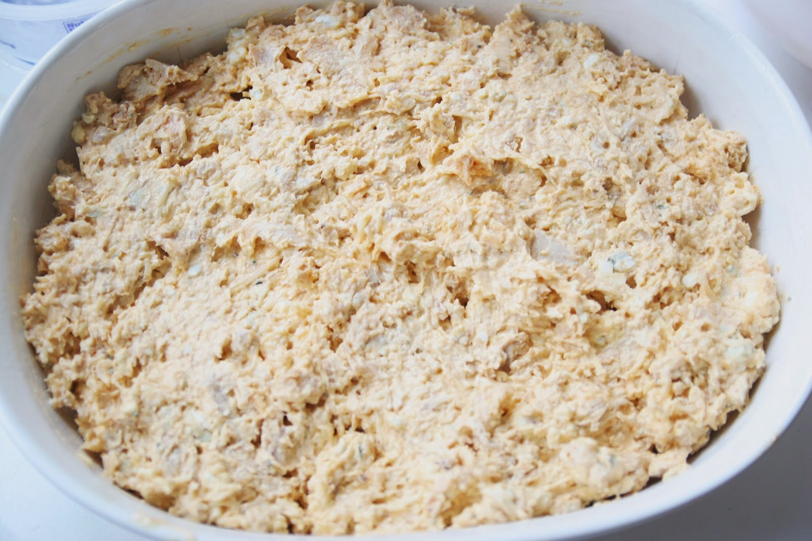 buffalo chicken dip uncooked