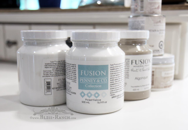 Fusion Mineral Paint, Bliss-Ranch.com