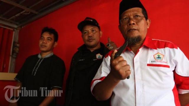 Korps Telaga Nipah, Loyalis JK Akan Terbangkan Badik ke Jakarta Jika Kapolri Tidak...