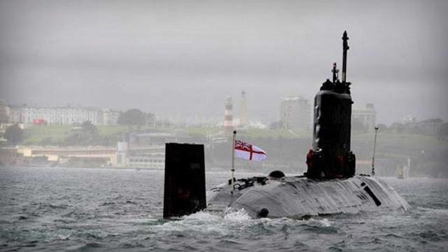 Expulsan a siete tripulantes de un submarino nuclear británico por haber consumido cocaína