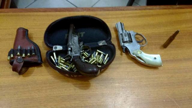 Armas e munições são apreendidas em Itaiópolis