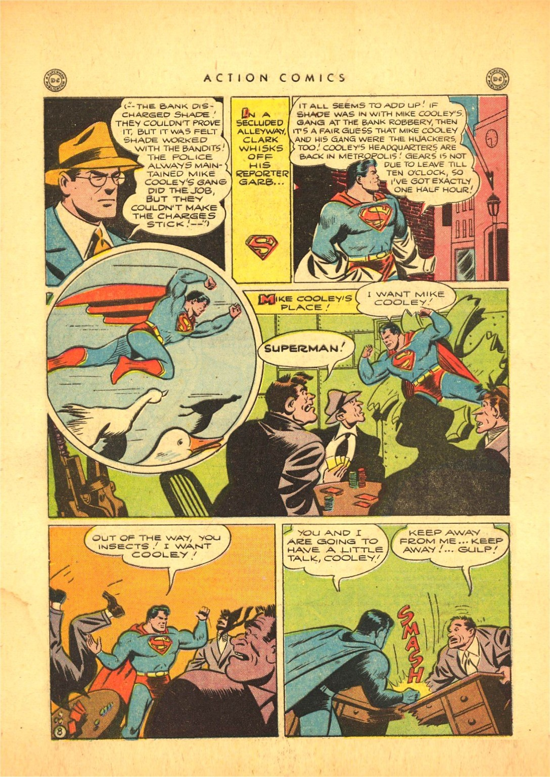 Read online Action Comics (1938) comic -  Issue #87 - 9