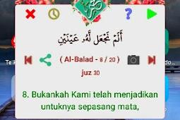 Nakhtim, aplikasi yang memaksa kita baca Al Quran