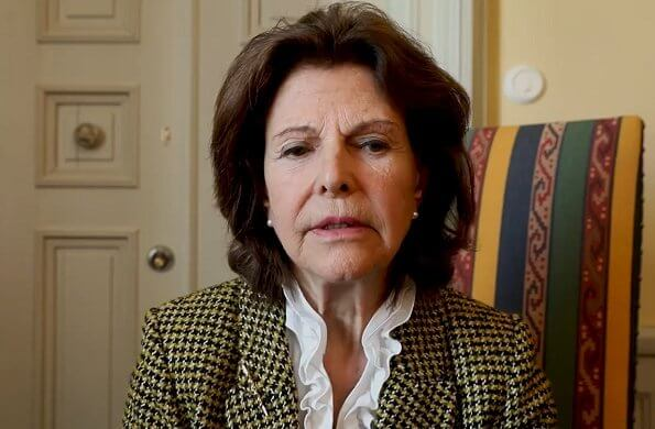 Founder of the Childhood, Queen Silvia sent a video message for parents, on the occasion of Covid-19 crisis