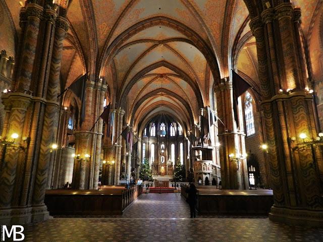 interno chiesa di Mattia budapest