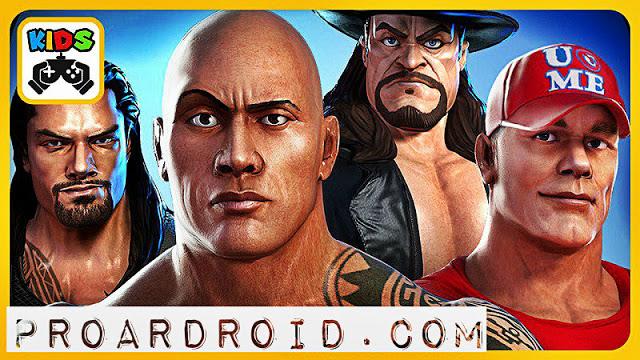 لعبة WWE Champions Apk v0.393 مهكرة للأندرويد (اخر اصدار) logo