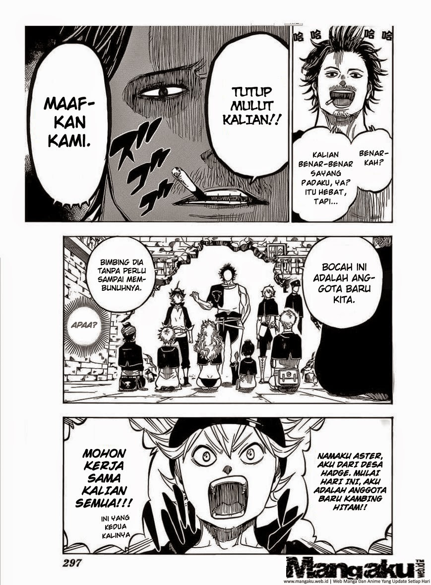 Manga Black Clover Chapter 4 Bahasa Indonesia