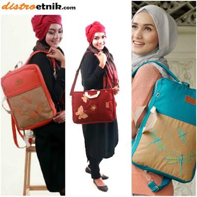 tas ransel selempang untuk laptop heejou bags