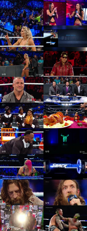 Screen Shot Of WWE SmackDown Live 20th November 2018 HDTV 480P 300MB