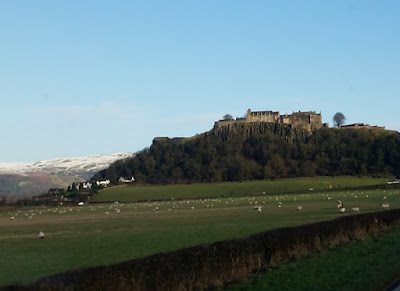 Stirling Castle near Head Office of perimeter security manufacturer