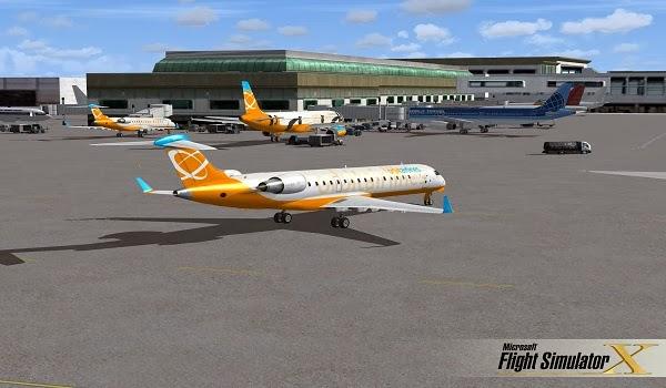 لعبة محاكاة الطيران المدني بدون تحميل