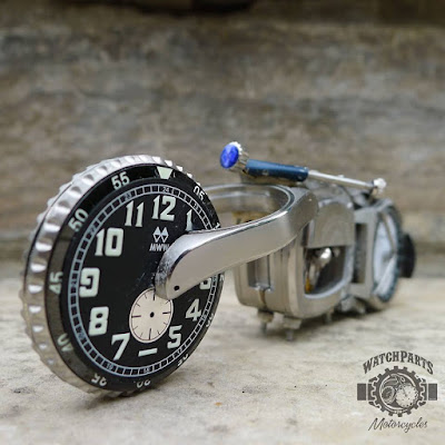 repurpose of old wristwatches
