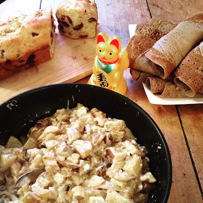 laiterie de paris, truffade, saint nectaire, recette, faire son fromage, faire du fromage, blog fromage, blog fromage maison, recette fromage , recette truffade maison, recette tome fraiche
