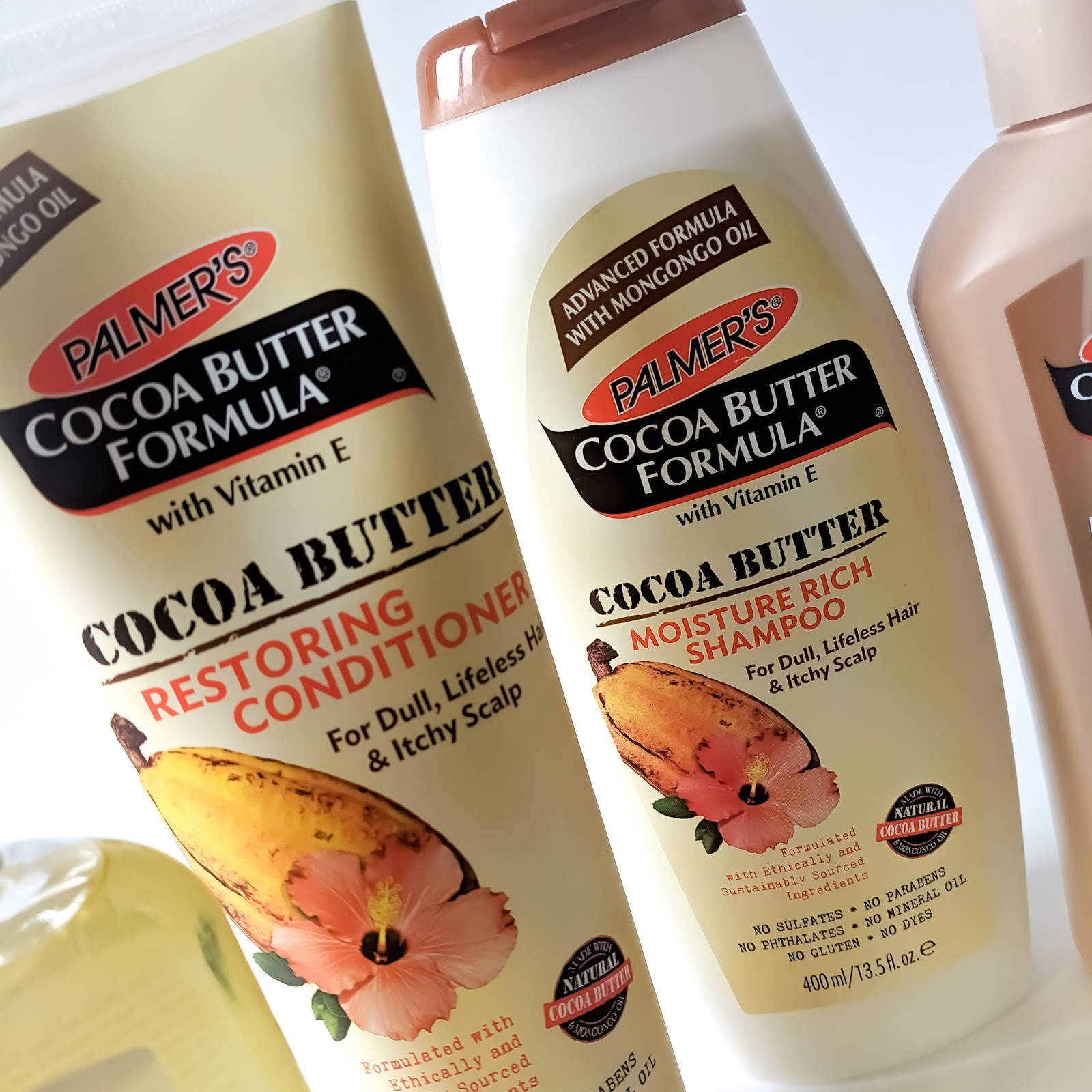 Palmer's Cocoa Butter Shampoo and Conditioner