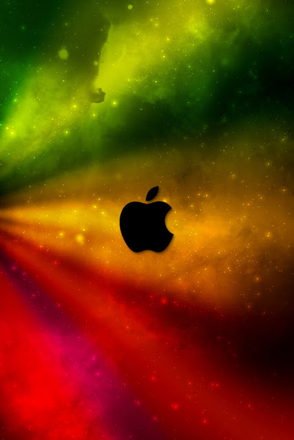 Colorful Apple iPhone Wallpaper By TipTechNews.com