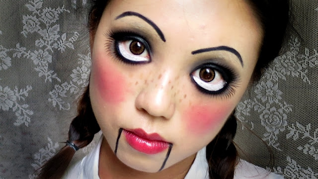 Scary Halloween 2016 Make Up Ideas For Girls & Guys You Should Try It