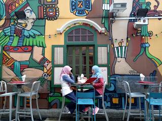 haji lane, singapura, kuliner singapura, ngopi di singapura, selfie coffee