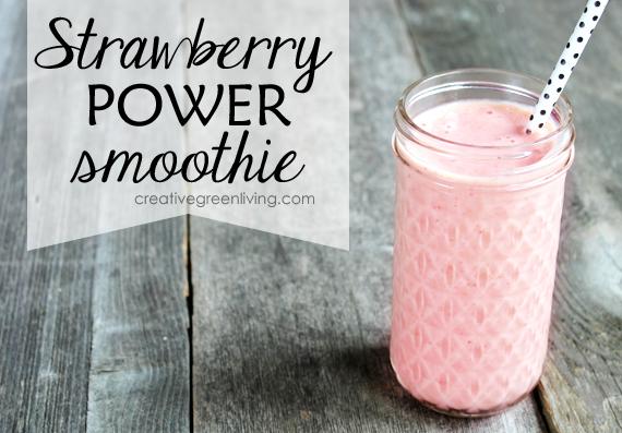Strawberry Power Smoothie