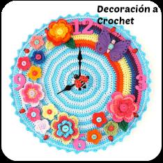 Decoración y hogar en crochet