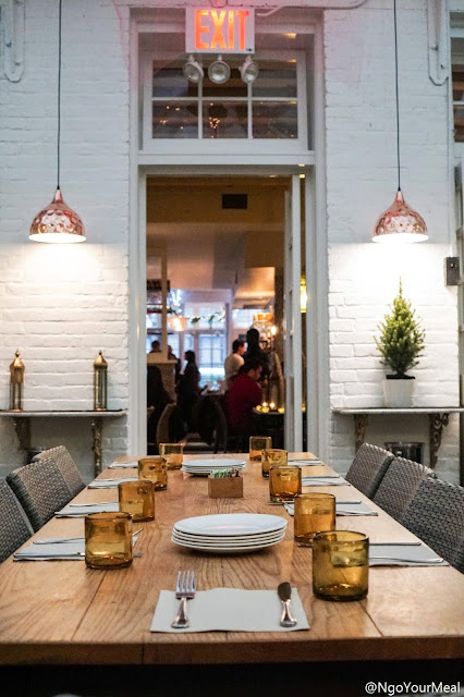 Dining Area at Shuka in New York City