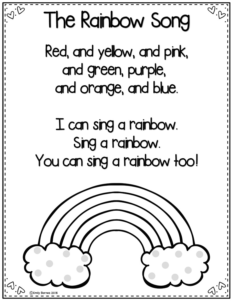 Emily Education: Teaching Color Words; Activities and Ideas