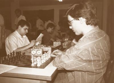 Joan Camacho en el XVI Torneo Abierto Sant Andreu 1987