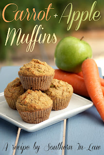 Healthy Carrot Apple Muffins Recipe Gluten Free