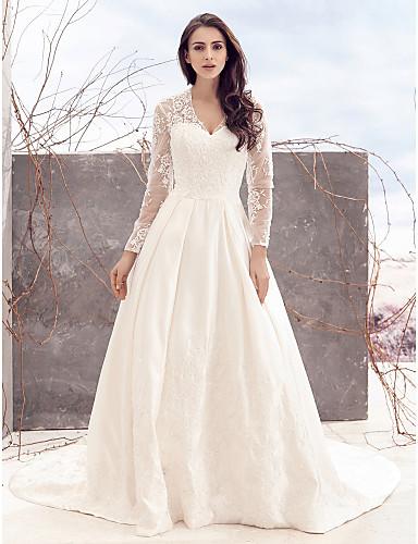 Vestidos de novia con manguitas