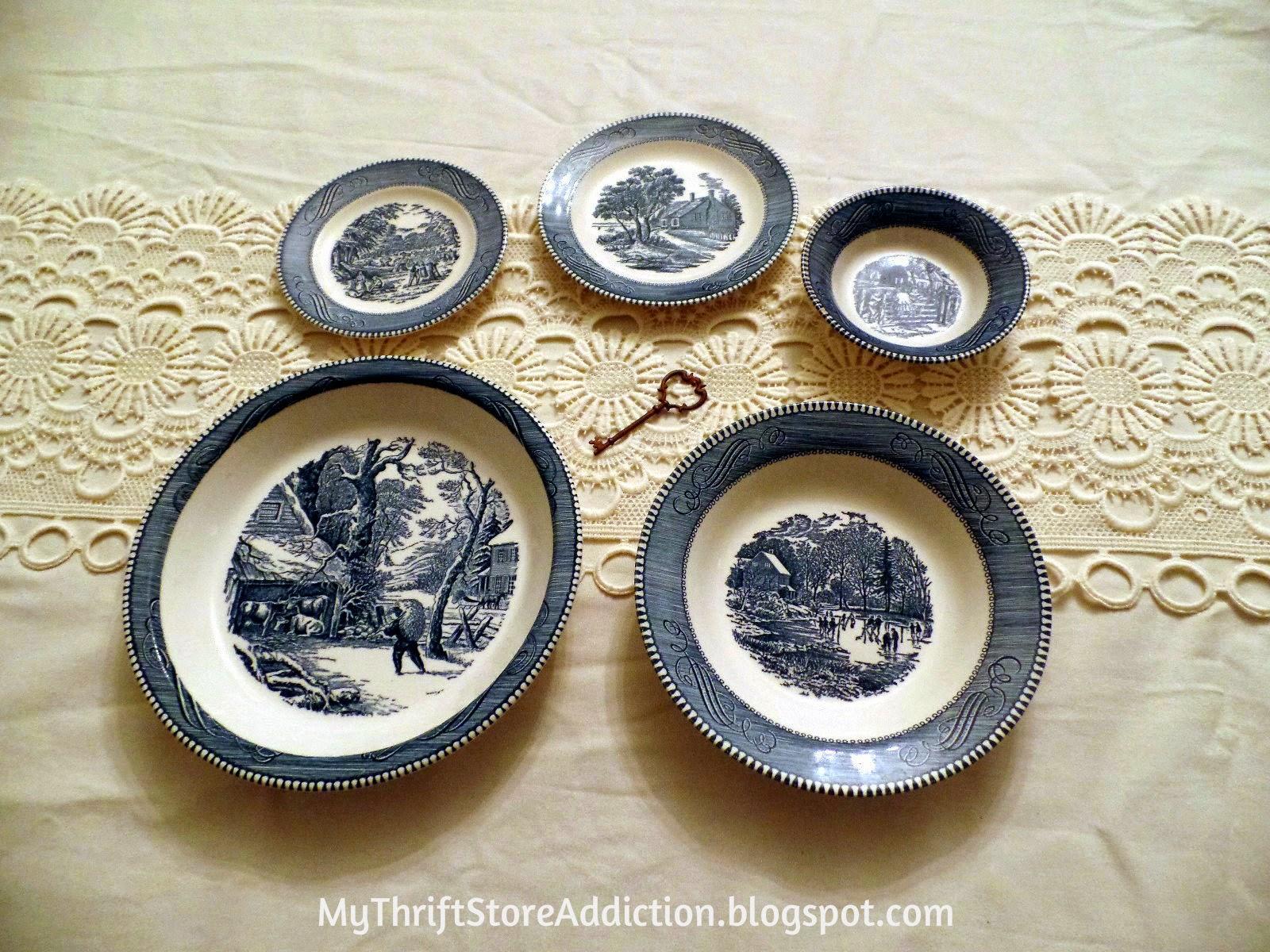 Vintage Currier & Ives