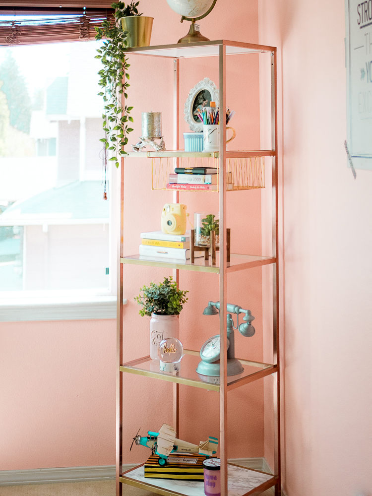 Office Decorating Ideas Blog I have already switched around-swapped out stuff on the bookshelf in the  last few days. Thatu0027s just how I operate, always trying to improvise and  keep ...