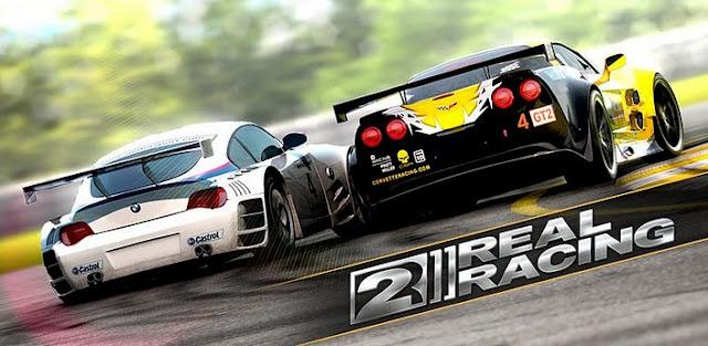 real-racing2- Jogo Grátis para Android: Real Racing 2