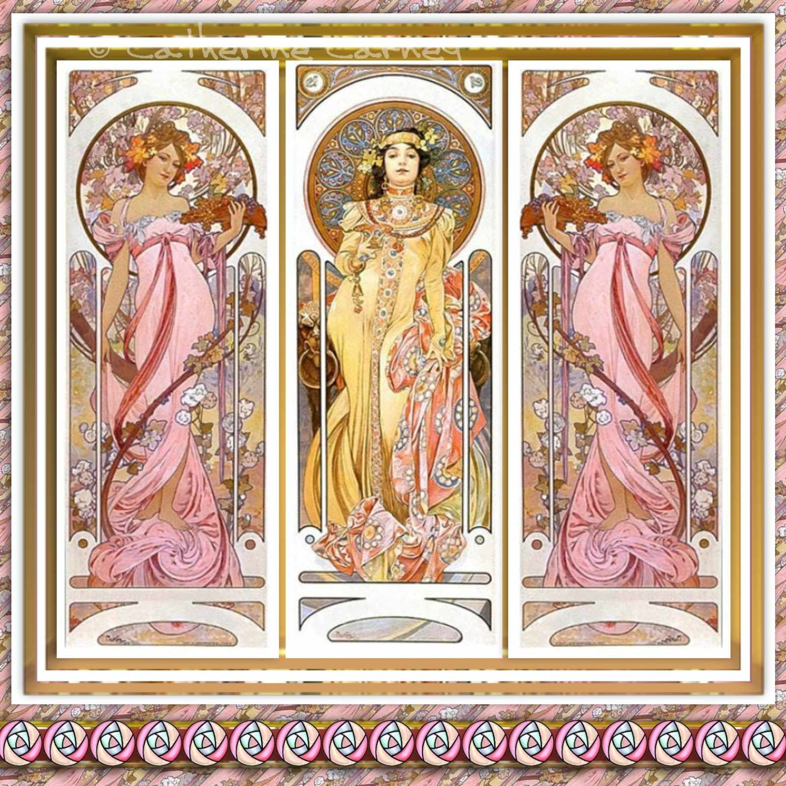 Art Deco Nouveau: What Katy Did Next: Art Nouveau Ladies
