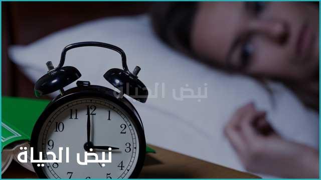 ما هي الاسباب الارق وعدم القدرة على النوم