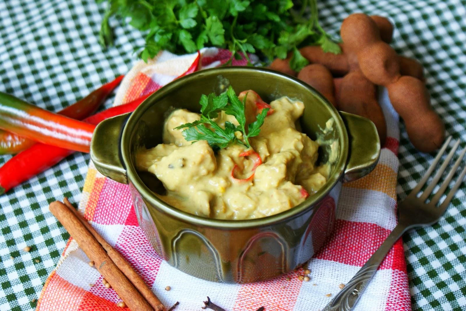 Curry z wieprzowiną i tamaryndowcem