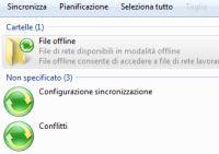 centro sincronizzazione rete Windows