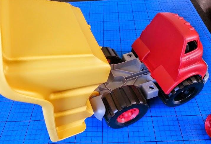 Green toys Dumper Tipper Truck Recycled Plastic Milk Jugs