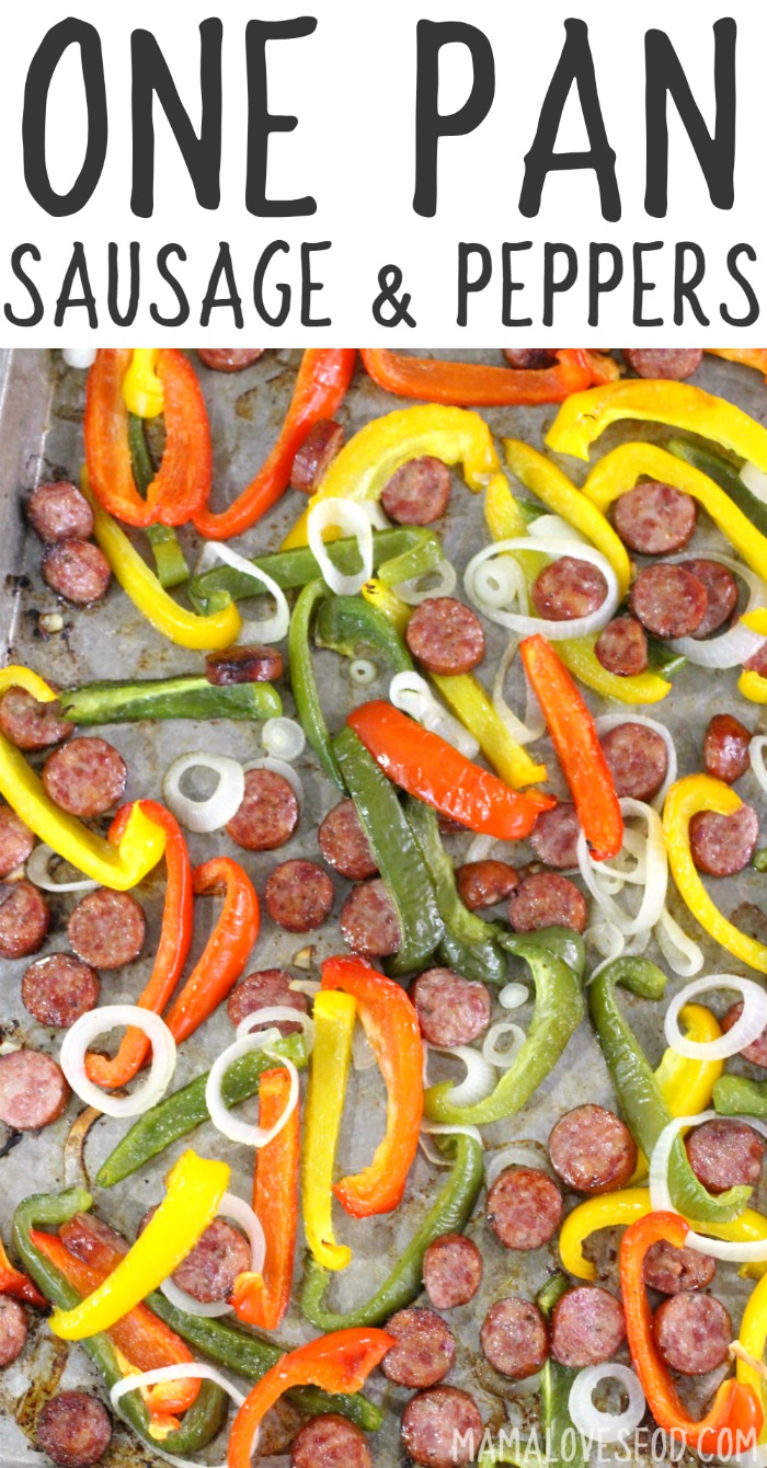 How to Make Sausage and Peppers on One Pan