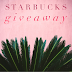 GIVEAWAY :: STARBUCKS INSTAGRAM US$ 100 GIFT CARD GIVEAWAY
