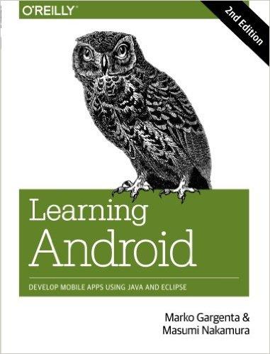 Learning.Android.pdf كتاب رائع !!