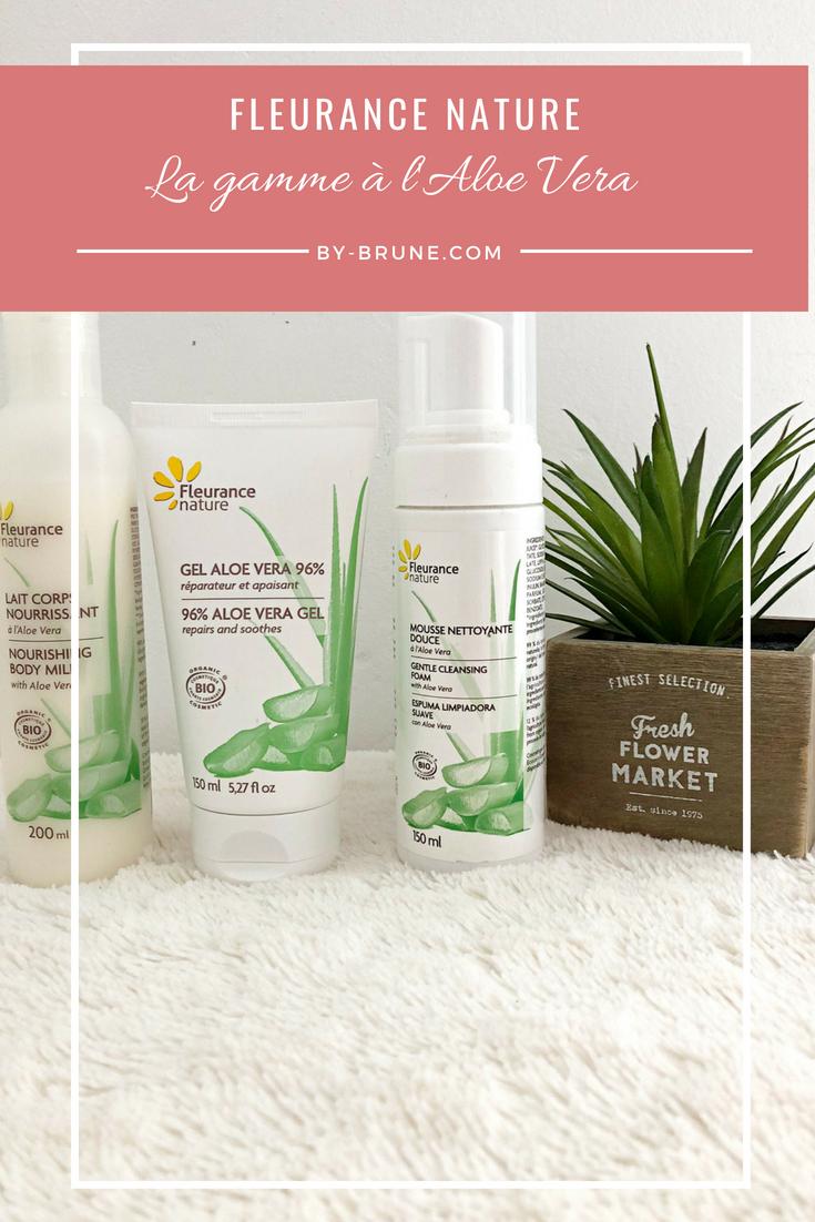 Je teste pour vous les produits à l'aloe vera de la marque Fleurance Nature. Je vous donne mon avis sur ces produits.