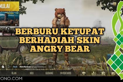 Cara Mudah Mendapatkan Skin Angry Bear di PUBG Mobile