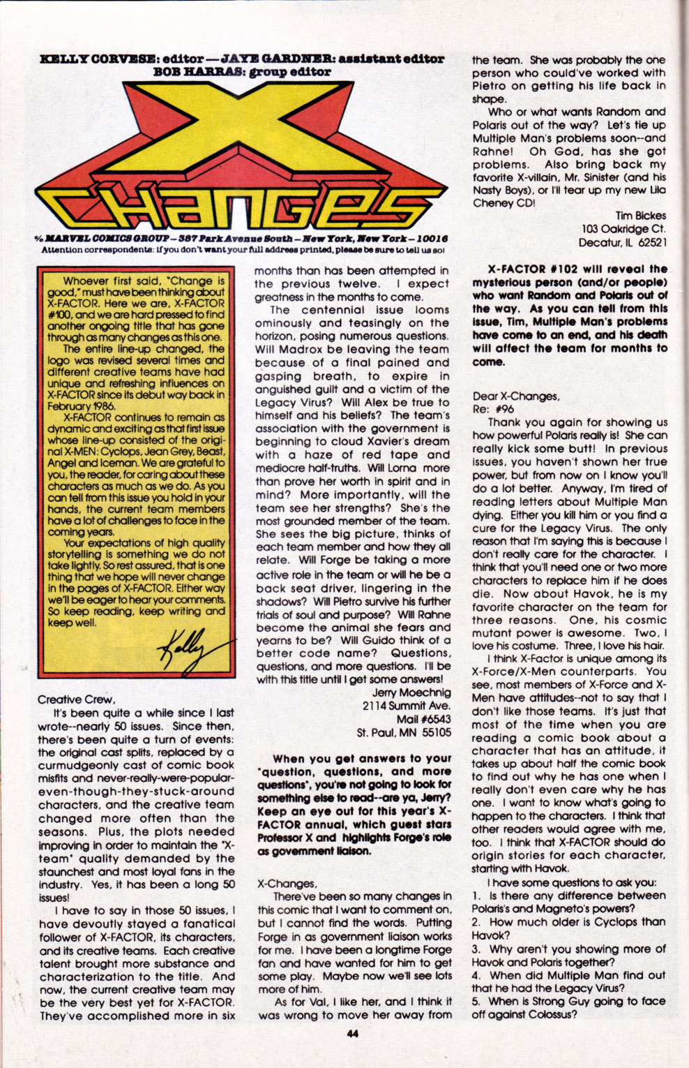 Read online X-Factor (1986) comic -  Issue #100 - 37