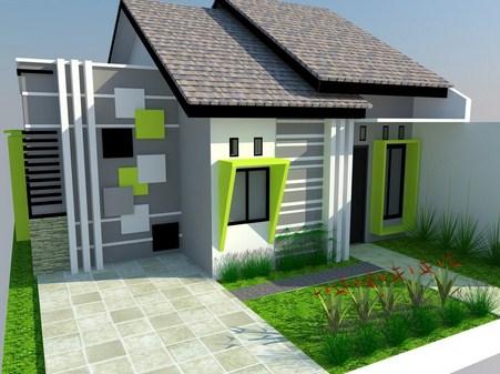 Desain Rumah Minimalis Satu Lantai Cantik