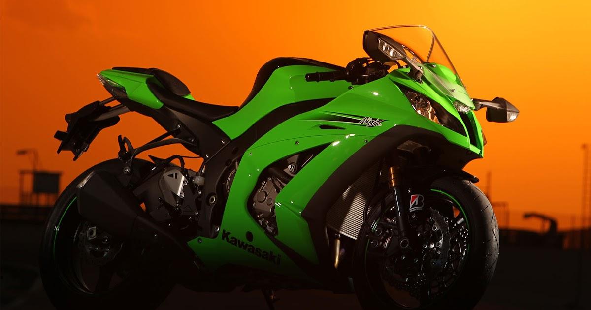 Ihot Wallons: Kawasaki Ninja ZX10R 2009 & Wallpapers