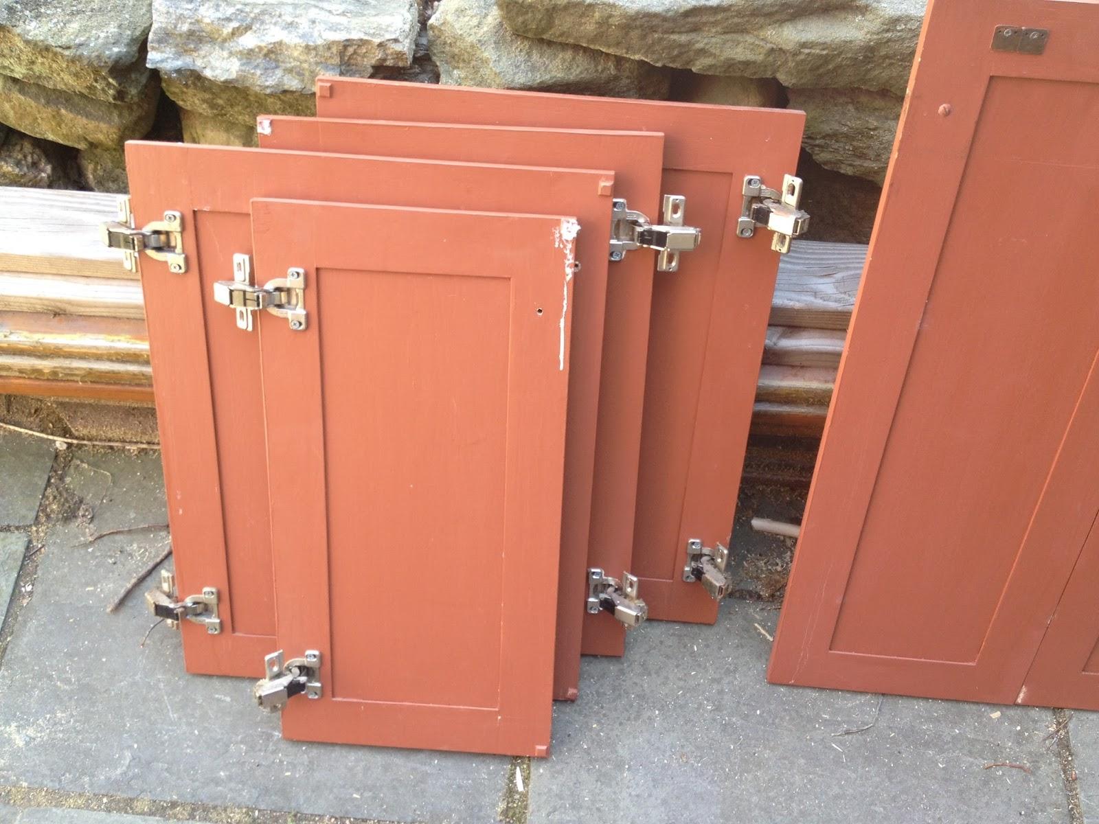 kitchen cabinet doors before
