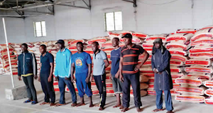 Photo: Navy Arrests 8 With N61m Smuggled Rice