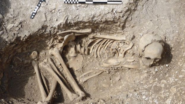 Iron Age skeletons unearthed in Dorset's Iron Age 'Duropolis'